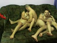 Mixed swinger couples in hardcore action