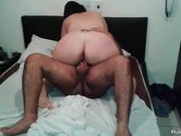 Housewife on cuckold sex video
