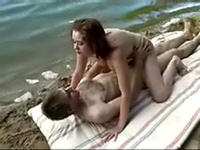 Fantastic sexual getaway on the lake