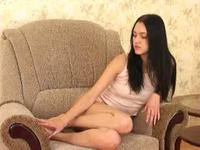 Fit brunette takes my dick in her mouth and pussy