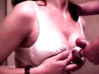 doggy fuck and tits cumshot