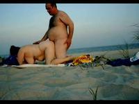 Caught banging at the beach