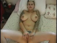 Big tit kinky Lydia masturbating